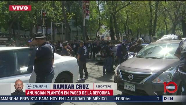 policias que rechazan adhesion a guardia nacional amenazan con planton