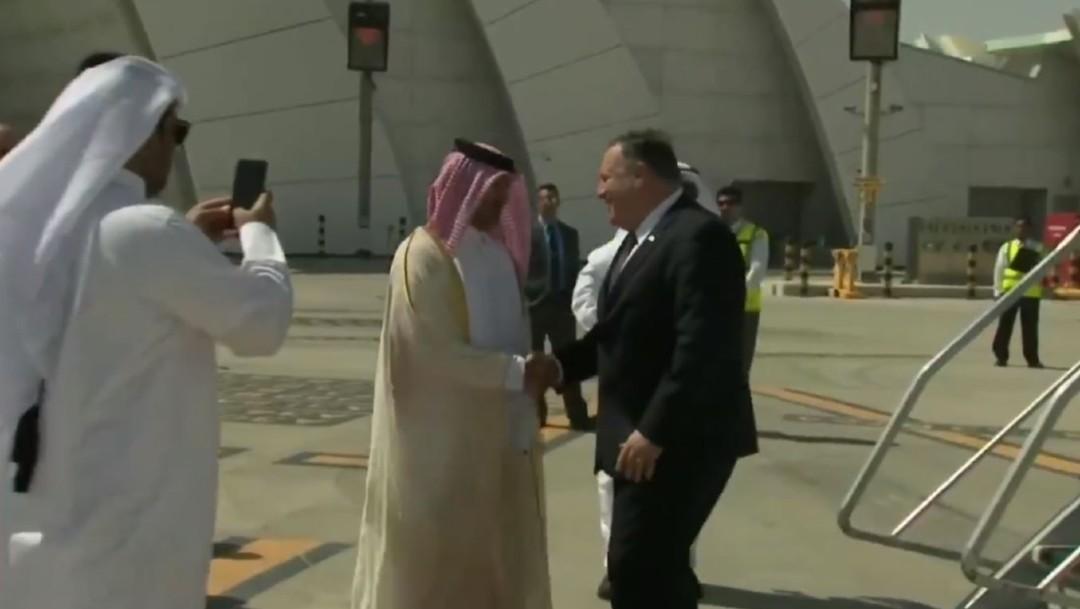 Pompeo llega a Doha para firmar acuerdo con los talibanes