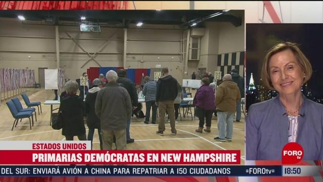FOTO: primarias de new hampshire marcan pauta y ritmo de la contienda presidencial