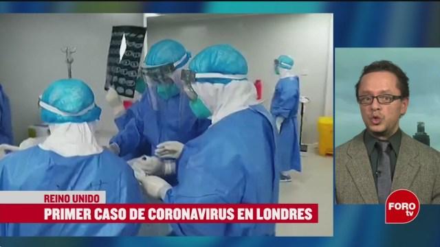 primer caso de coronavirus en londres