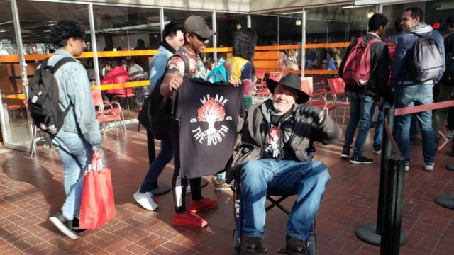 Foto: Profesor de UAM traslada huelga de hambre de San Lázaro a Azcapotzalco