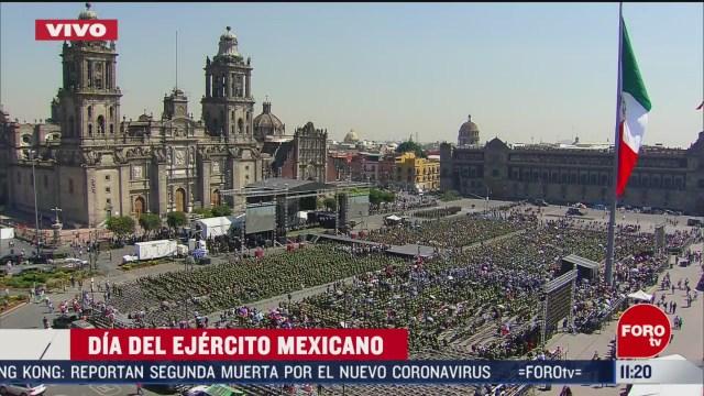 programa especial dia nacional del ejercito mexicano parte