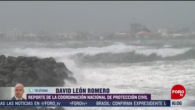 FOTO: proteccion civil alerta por frente frio 41 en mexico