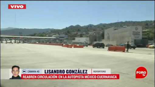 recicladores se retiran y reabren autopista mexico cuernavaca