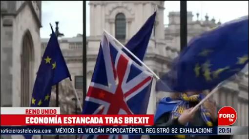 Foto: Reino Unido Economía Reportan Estancamiento Tras Brexit 13 Febrero 2020