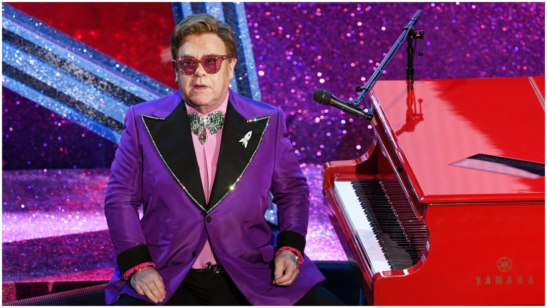 Foto: Elton John también fue uno de los grandes protagonistas de los Oscar 2020, 9 de febrero de 2020 (Getty Images)
