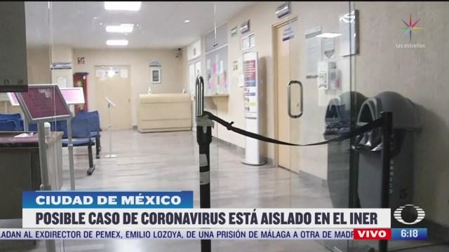 se registran actividades normales en el iner sin reportes de coronavirus