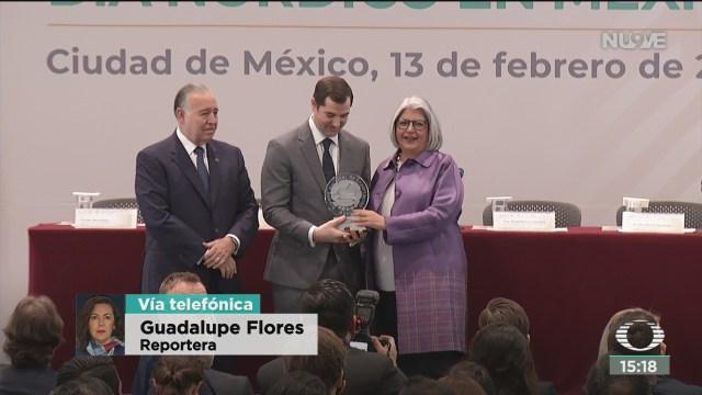 FOTO: secretaria de economia entrega premio nacional de exportacion