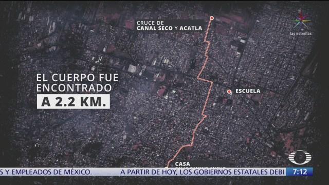 secuestro y homicidio de fatima ocurrio en radio de 2 km en la cdmx