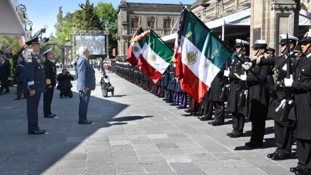 Foto: Para las Fuerzas Armadas el objetivo es claro, lograr la transformación de la vida pública de México a través de desterrar la corrupción