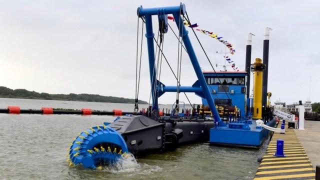 Foto: Con el dragado se busca el mejoramiento de un cuerpo de agua y así incrementar la profundidad de una vía navegable