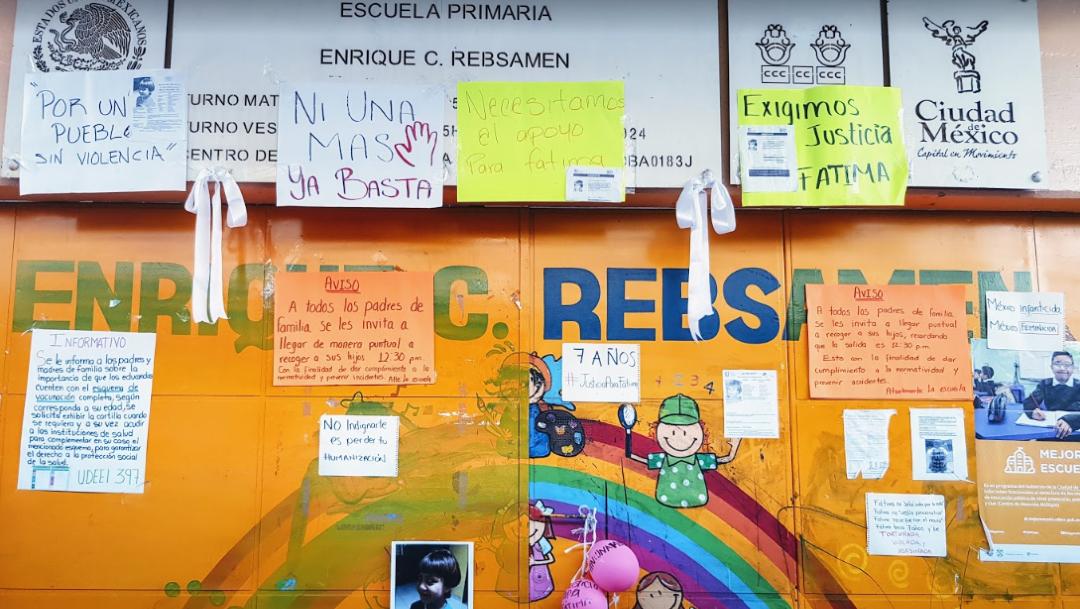 foto SEP anuncia nuevas medidas para proteger a niños y niñas en escuelas públicas CDMX; en la imagen, la escuela 'Enrique C. Rebsamen', donde estudiaba Fátima (Google Maps)