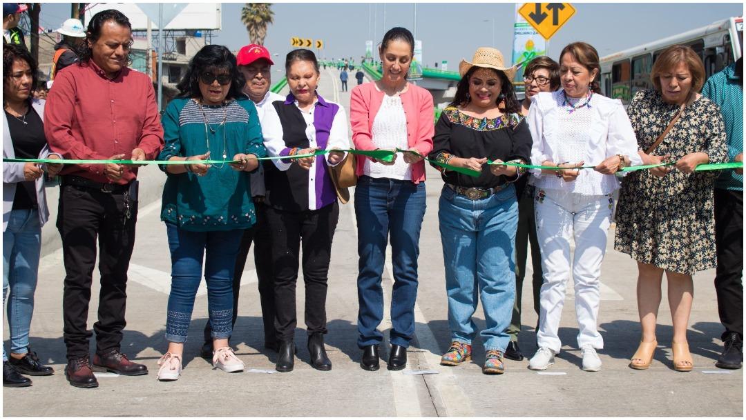 Foto: Claudia Sheinbaum inaugura puente que conecta Iztapalapa con Los Reyes La Paz, 22 de febrero de 2020 (AGDALENA MONTIEL/CUARTOSCURO.COM)