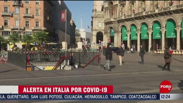 sigue en aumento cifra de muertos por coronavirus en italia