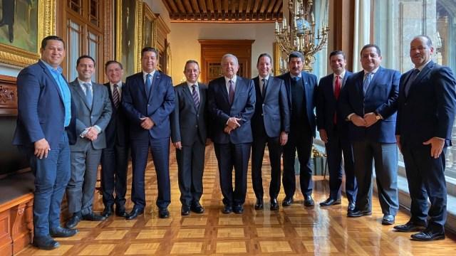 Sin acuerdos, reunión entre gobernadores panistas y AMLO