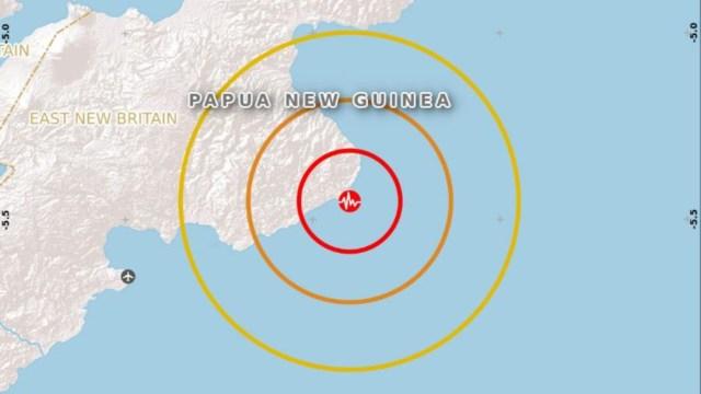 Foto: Sismo de magnitud 6.2 sacude a Papúa Nueva Guinea, 9 febrero 2020