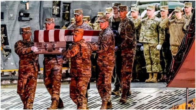 Imagen: Soldados estadounidenses habría muerto tras ataque en Afganistán, 8 de febrero de 2020 (EFE)