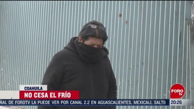 Foto: Temperaturas Congelantes Mantendrán Frente frío Coahuila 21 Febrero 2020