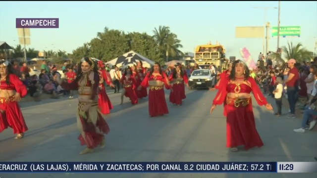 termina carnaval en ciudad del carmen campeche mas de 50 mil personas asistieron