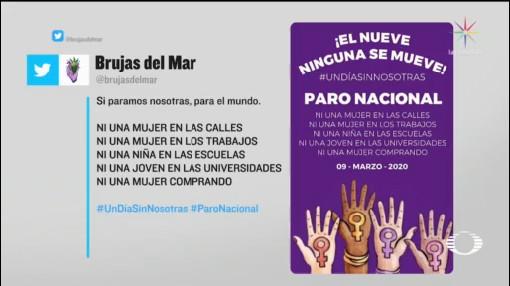 Foto: Convocatoria El Nueve Nadie Se Mueve 9 Marzo 20 Febrero 2020