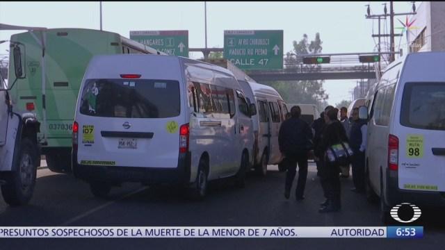 transportistas cancelan mega marcha del 19 de febrero en cdmx