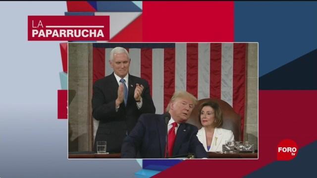 Foto: Trump Discurso Estado Unión Noticias Falsas 5 Febrero 2020