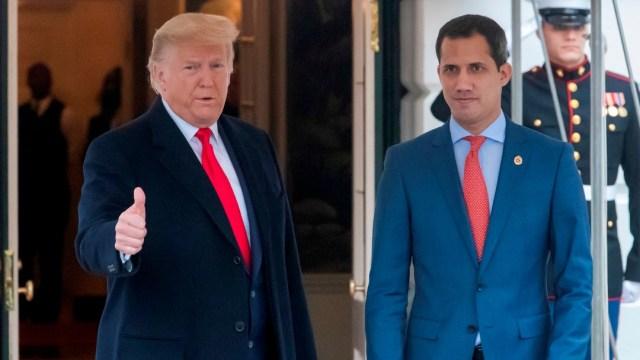 Foto:Trump y Guaidó se reúnen en la Casa Blanca