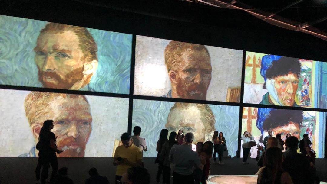 ¡Por fin! La exposición Van Gogh Alive llegó a México