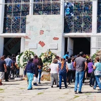 Entierran a Ingrid Escamilla en Puebla