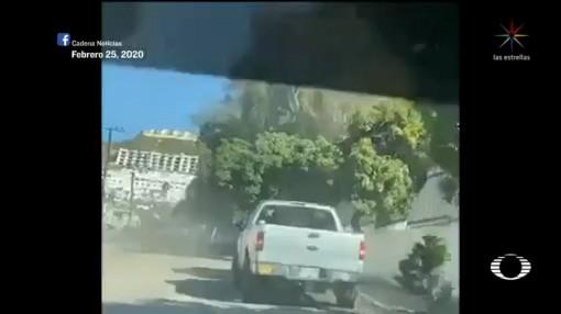 Foto: Video Pobladores Detienen Ladrón Playas Tijuana 27 Febrero 2020