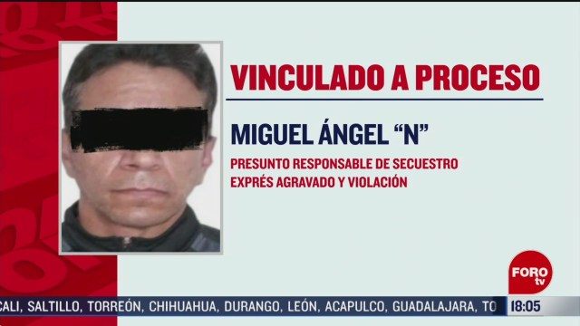 FOTO: vinculan a proceso a presunto taxista violador serial