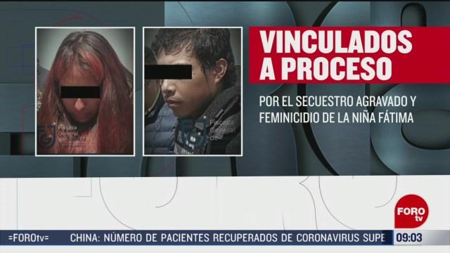 FOTO: 23 Febrero 2020, vinculan a proceso a presuntos feminicidas de la nina fatima
