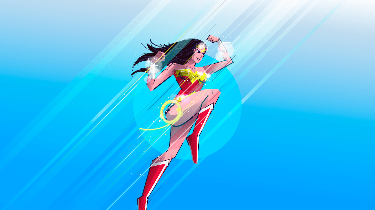 Imagen Wonder Woman Superheroínas 4 Febrero 2020