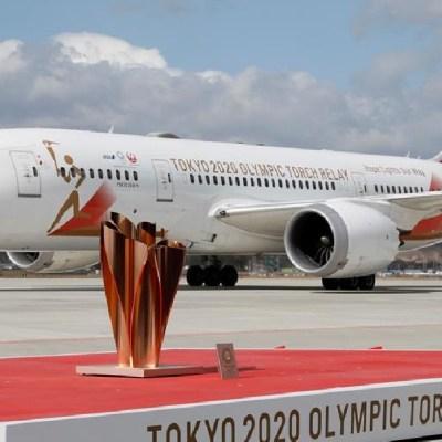Antorcha de los Juegos Olímpicos de Tokio 2020 llega a Japón