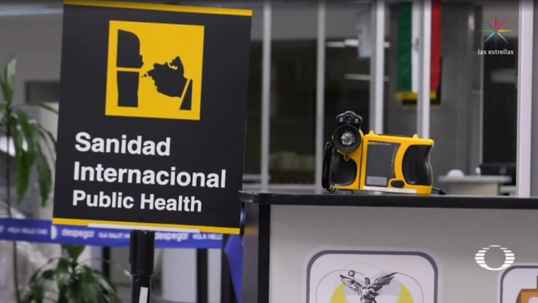 Cámaras termográficas de AICM detectan fiebre en viajeros