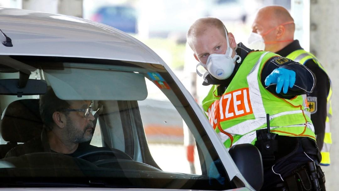 Alemania impone controles fronterizos a cinco países por coronavirus