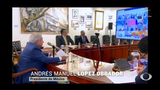 Foto: Coronavirus México Amlo Participa Teleconferencia Líderes G20 26 Marzo 2020