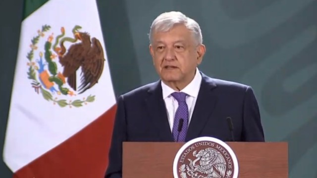 FOTO En SLP no se ha desbordado la incidencia delictiva, dice AMLO (YouTube)