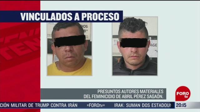 Foto: Asesinos Abril Pérez Habrían Cobrado 100 Mil Pesos 11 Marzo 2020