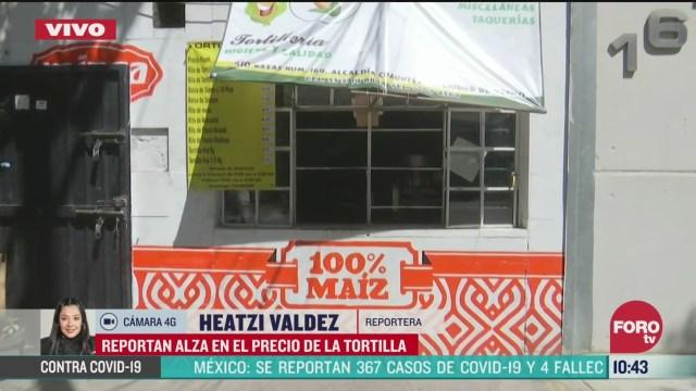 aumenta el kilo de tortilla en mexico