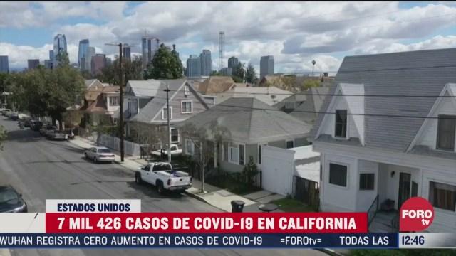 california presenta 7 mil 426 casos de coronavirus