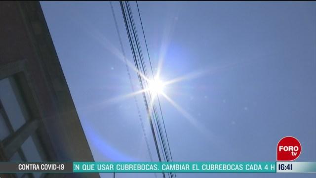 FOTO: calor ha incrementado drasticamente en la cdmx