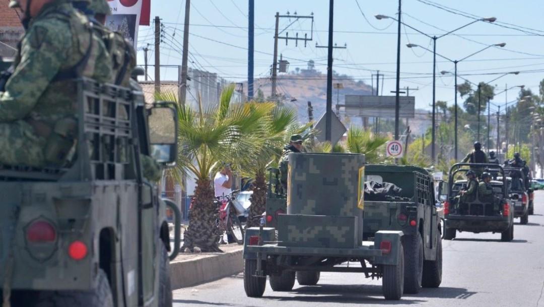 Elementos del Ejército realizan un recorrido por el estado de Guanajuato en operativos de seguridad. (Foto: Cuartoscuro, archivo)