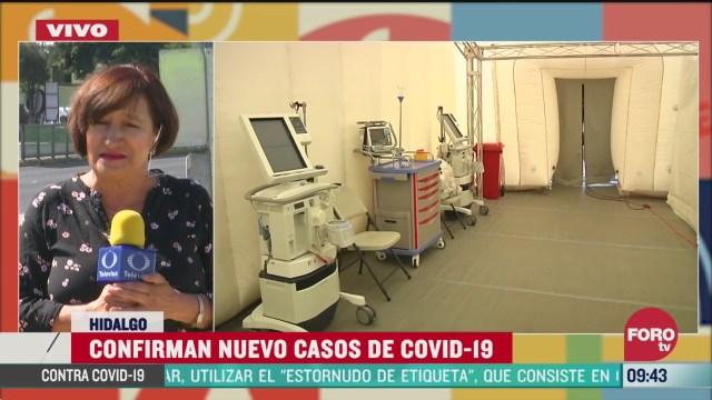 cinco nuevos casos de coronavirus en hidalgo