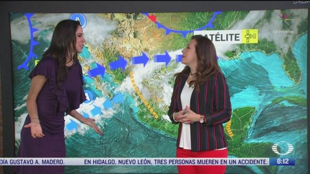 clima al aire pronostican lluvias fuertes en baja california y sonora