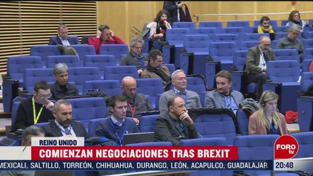 Foto: Negociaciones Reino Unido Unión Europea Tras Brexit 2 Marzo 2020