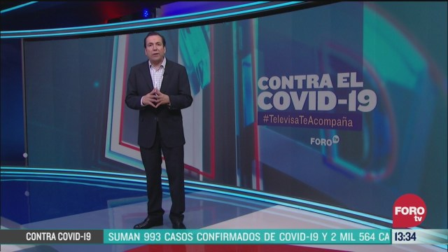 FOTO: contra el covid 19 televisateacompana primera emision 30 de marzo de
