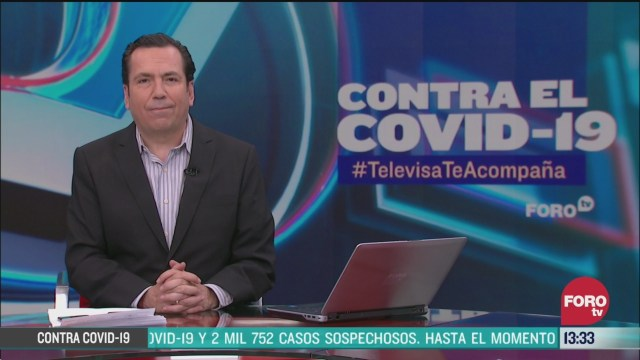 FOTO: contra el covid 19 televisateacompana primera emision 31 de marzo de