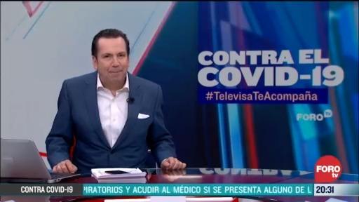 Foto: Contra El COVID Televisa Te Acompaña Recomendaciones Prevención Coronavirus Pandemia Cuarentena 27 Marzo 2020