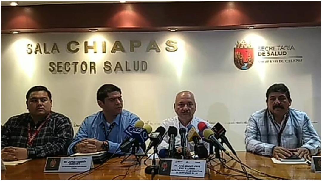Foto: Se registra primer caso de coronavirus en Chiapas, 1 de marzo de 2020 (Twitter)